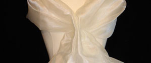 Organza Wrap - Cream