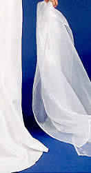 Organza Wraps, the perfect finishing touch to match or contrast with your Gown.